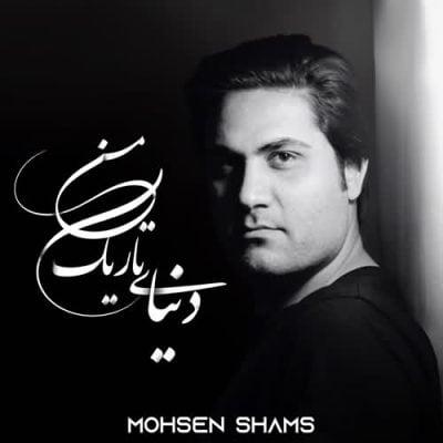دانلود آهنگ محسن شمس به نام دنیای تاریک من