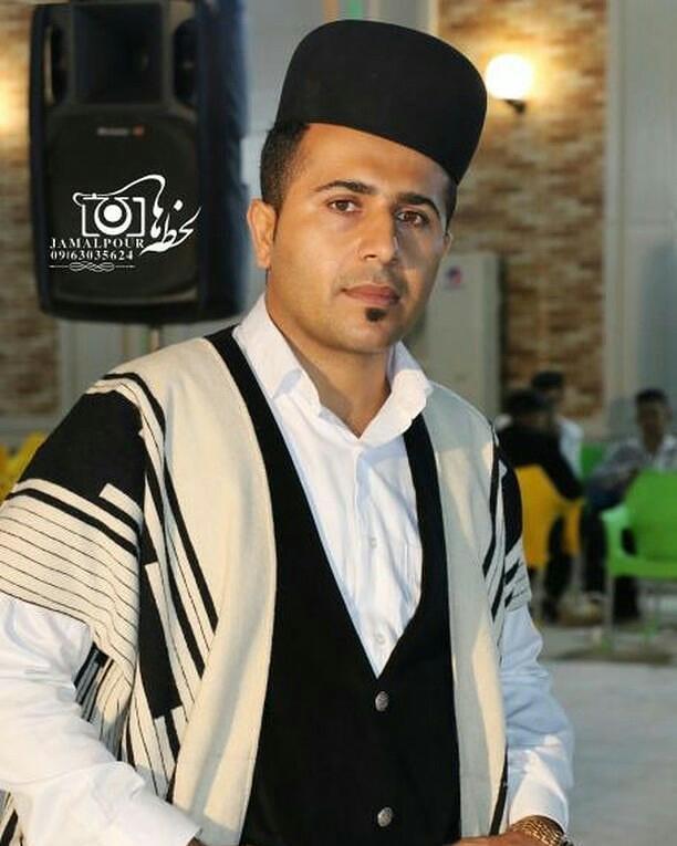 کاظم قادری کنار غریو
