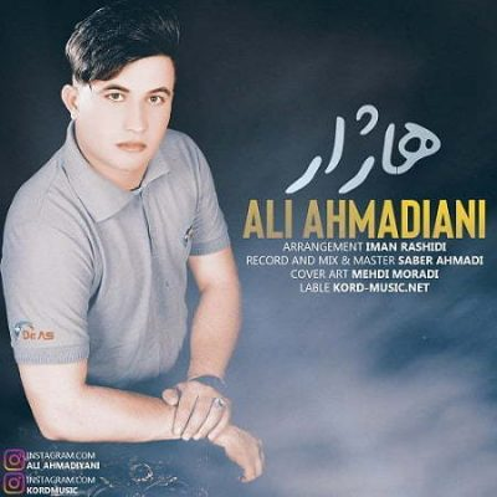 دانلود آهنگ کردی هاژار از علی احمدیانی